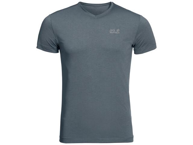Jack Wolfskin JWP T-Shirt Heren, storm grey